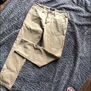 America Eagle Mens Khaki Dress Pants